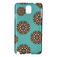 Circle Vector Background Abstract Samsung Galaxy Note 3 N9005 Hardshell Case