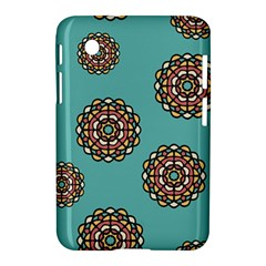 Circle Vector Background Abstract Samsung Galaxy Tab 2 (7 ) P3100 Hardshell Case