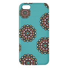 Circle Vector Background Abstract Iphone 5s/ Se Premium Hardshell Case