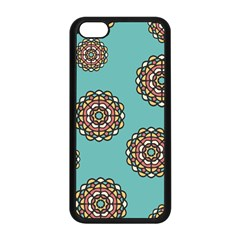 Circle Vector Background Abstract Apple Iphone 5c Seamless Case (black)