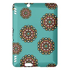 Circle Vector Background Abstract Kindle Fire Hdx Hardshell Case