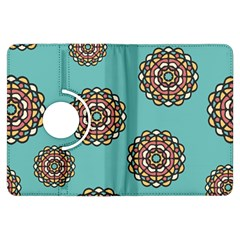 Circle Vector Background Abstract Kindle Fire HDX Flip 360 Case