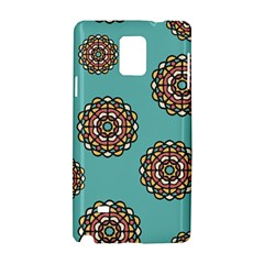 Circle Vector Background Abstract Samsung Galaxy Note 4 Hardshell Case
