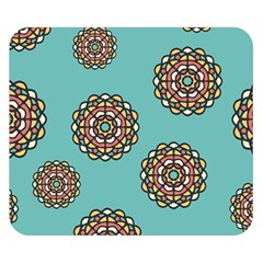 Circle Vector Background Abstract Double Sided Flano Blanket (small)