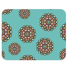Circle Vector Background Abstract Double Sided Flano Blanket (Medium)