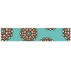Circle Vector Background Abstract Flano Scarf (large)