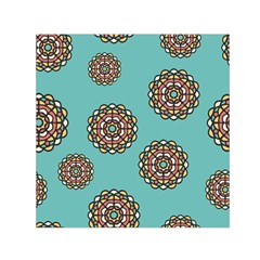 Circle Vector Background Abstract Small Satin Scarf (square)
