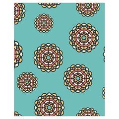 Circle Vector Background Abstract Drawstring Bag (Small)