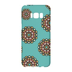 Circle Vector Background Abstract Samsung Galaxy S8 Hardshell Case