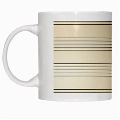 Notenblatt Paper Music Old Yellow White Mugs