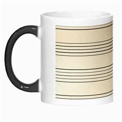 Notenblatt Paper Music Old Yellow Morph Mugs
