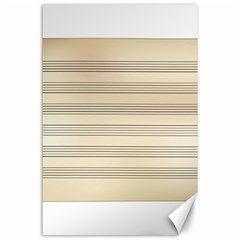 Notenblatt Paper Music Old Yellow Canvas 24  X 36