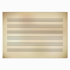 Notenblatt Paper Music Old Yellow Large Glasses Cloth