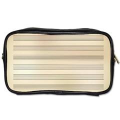 Notenblatt Paper Music Old Yellow Toiletries Bags 2-Side