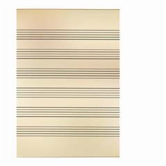 Notenblatt Paper Music Old Yellow Small Garden Flag (two Sides)