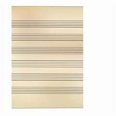 Notenblatt Paper Music Old Yellow Large Garden Flag (Two Sides)