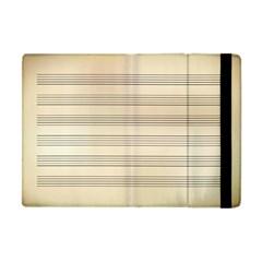 Notenblatt Paper Music Old Yellow Apple Ipad Mini Flip Case