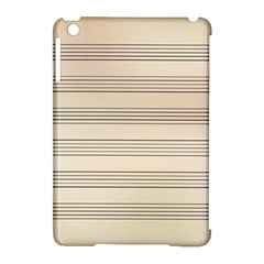 Notenblatt Paper Music Old Yellow Apple Ipad Mini Hardshell Case (compatible With Smart Cover)