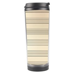 Notenblatt Paper Music Old Yellow Travel Tumbler