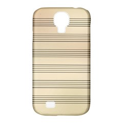 Notenblatt Paper Music Old Yellow Samsung Galaxy S4 Classic Hardshell Case (pc+silicone)