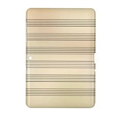 Notenblatt Paper Music Old Yellow Samsung Galaxy Tab 2 (10.1 ) P5100 Hardshell Case