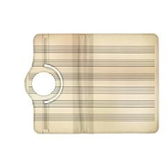 Notenblatt Paper Music Old Yellow Kindle Fire Hd (2013) Flip 360 Case