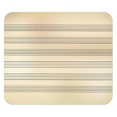 Notenblatt Paper Music Old Yellow Double Sided Flano Blanket (Small)