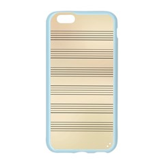 Notenblatt Paper Music Old Yellow Apple Seamless iPhone 6/6S Case (Color)