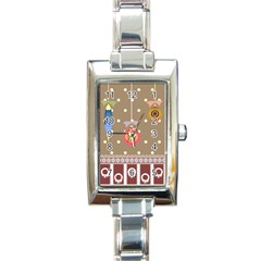 Art Background Background Vector Rectangle Italian Charm Watch