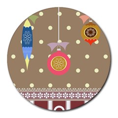 Art Background Background Vector Round Mousepads