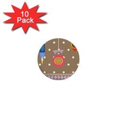 Art Background Background Vector 1  Mini Buttons (10 Pack)