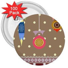 Art Background Background Vector 3  Buttons (100 Pack)