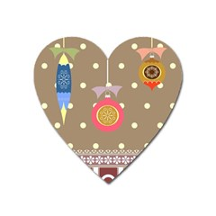 Art Background Background Vector Heart Magnet