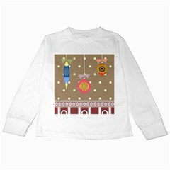 Art Background Background Vector Kids Long Sleeve T Shirts