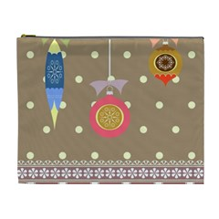 Art Background Background Vector Cosmetic Bag (XL)