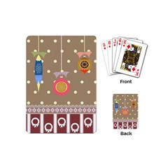 Art Background Background Vector Playing Cards (mini)