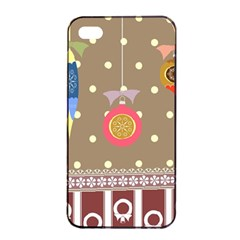 Art Background Background Vector Apple iPhone 4/4s Seamless Case (Black)