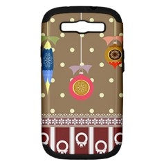 Art Background Background Vector Samsung Galaxy S Iii Hardshell Case (pc+silicone)