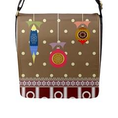 Art Background Background Vector Flap Messenger Bag (l)