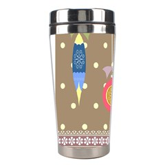 Art Background Background Vector Stainless Steel Travel Tumblers