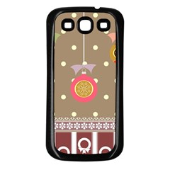 Art Background Background Vector Samsung Galaxy S3 Back Case (Black)