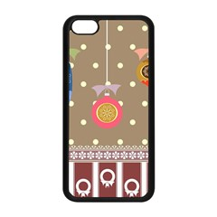 Art Background Background Vector Apple Iphone 5c Seamless Case (black)