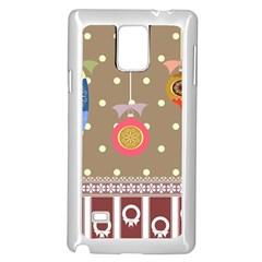 Art Background Background Vector Samsung Galaxy Note 4 Case (white)