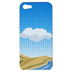 Grid Sky Course Texture Sun Apple Iphone 5 Hardshell Case