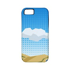 Grid Sky Course Texture Sun Apple Iphone 5 Classic Hardshell Case (pc+silicone)