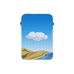 Grid Sky Course Texture Sun Apple Ipad Mini Protective Soft Cases