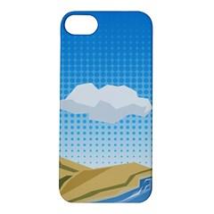 Grid Sky Course Texture Sun Apple Iphone 5s/ Se Hardshell Case