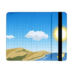 Grid Sky Course Texture Sun Samsung Galaxy Tab Pro 8.4  Flip Case