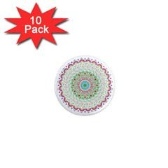 Flower Abstract Floral 1  Mini Magnet (10 pack)