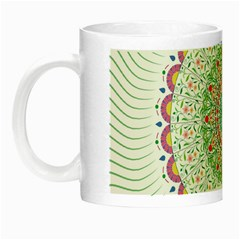 Flower Abstract Floral Night Luminous Mugs